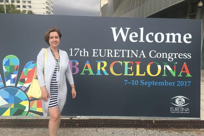 Специалисты клиники Тонус АМАРИС посетили Euretina Congress