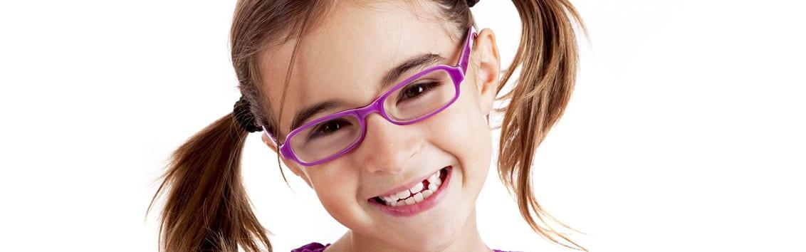 Очковая и контактная коррекция зрения детям