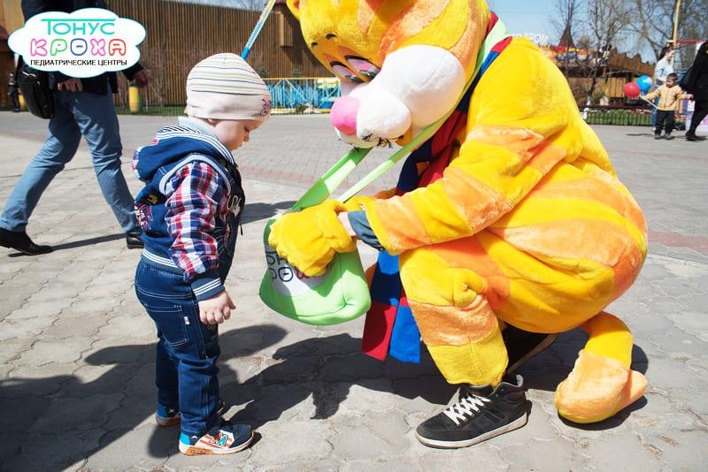 Открытие летнего сезона в зоопарке Лимпопо с Тонусом КРОХА