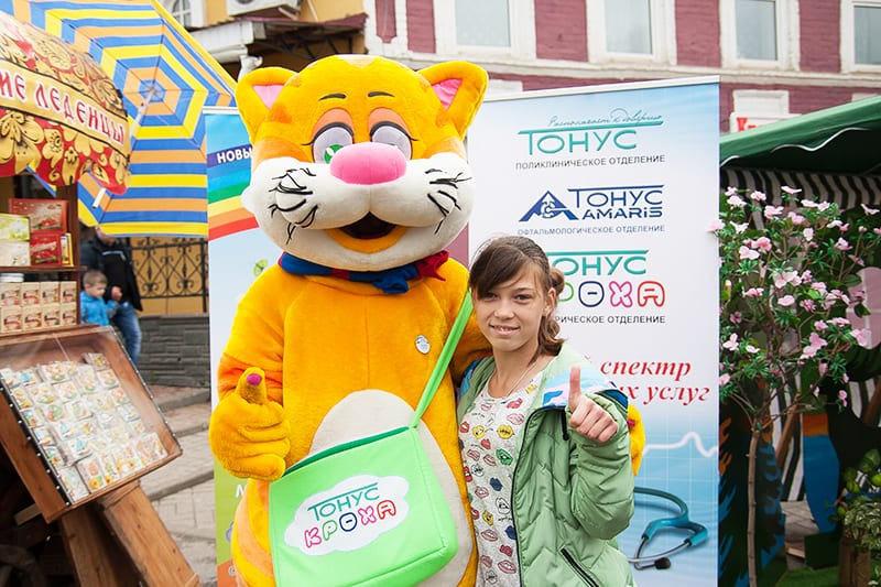 Тонус КРОХА на фестивале хохломы в Семенове
